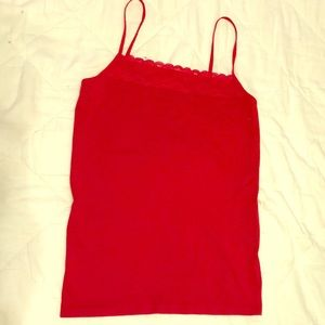 Red cami